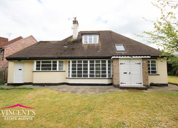 Thumbnail 4 bed bungalow for sale in Glen Way, Oadby