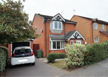 Thumbnail 3 bed detached house for sale in Kendal Road, Sileby