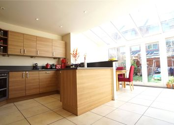Thumbnail 4 bed terraced house to rent in Darwin Rise, Northfleet, Gravesend