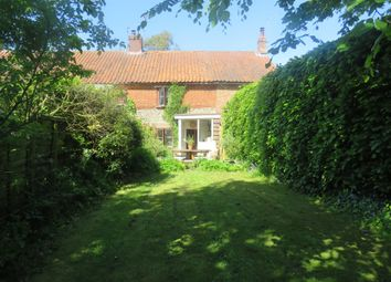 Thumbnail 2 bed property for sale in Mill Lane, Briningham, Melton Constable