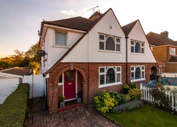 Thumbnail 3 bed semi-detached house for sale in Queens Road, Tankerton, Whitstable