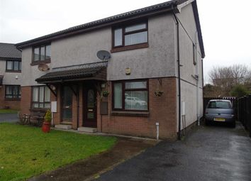 Thumbnail 2 bed semi-detached house for sale in Clos Derwen, Llansamlet, Swansea