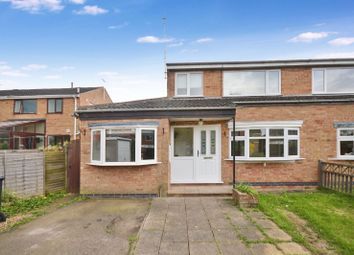 Thumbnail 3 bed semi-detached house for sale in Sawbrook, Fleckney, Leicester