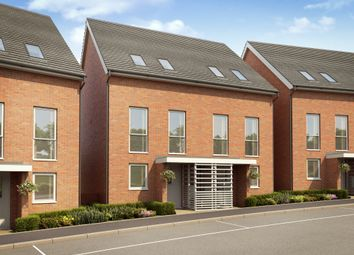 "Thumbnail 3 bedroom terraced house for sale in ""Atlee"" at Temple Hill, Dartford"