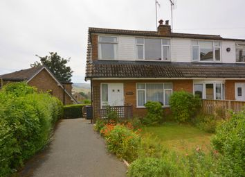 Thumbnail 3 bed semi-detached house for sale in Spring Bank Croft, Holmfirth