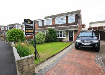 Thumbnail 3 bed semi-detached house for sale in Corsock Drive, Wigan