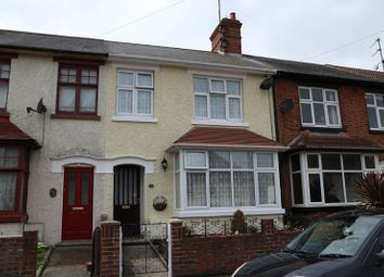 Thumbnail 3 bed terraced house for sale in King Georges Avenue, Dovercourt, Harwich