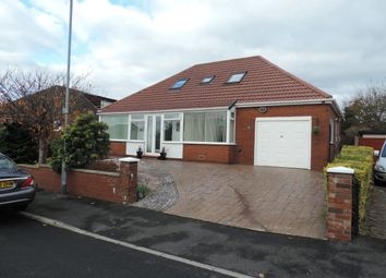 Thumbnail 4 bed detached bungalow for sale in Carlton Way, Royton, Oldham