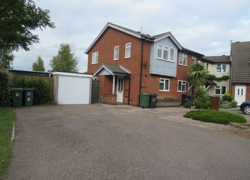 Thumbnail 2 bed semi-detached house to rent in Sedgefield Drive, Syston, Leicester