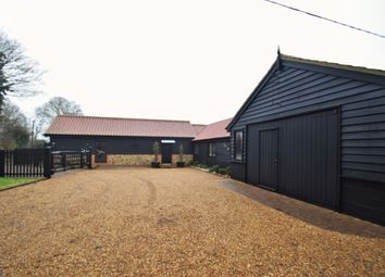 Thumbnail 4 bedroom barn conversion for sale in Moneypot Hill, Redgrave, Diss