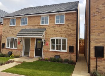 Thumbnail 2 bed semi-detached house for sale in St Margarets View, Crick, Northampton