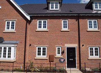 Thumbnail 3 bed town house for sale in Finch Road, Kibworth Harcourt, Leicester