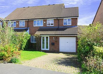Thumbnail 3 bed semi-detached house for sale in Capsey Road, Ifield, Crawley