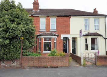 Thumbnail 3 bed terraced house for sale in Nutbeem Road, Eastleigh