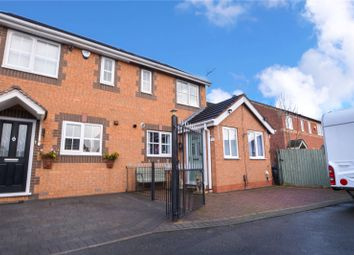 Thumbnail 3 bed semi-detached house for sale in Durham Close, Tamworth, Staffordshire