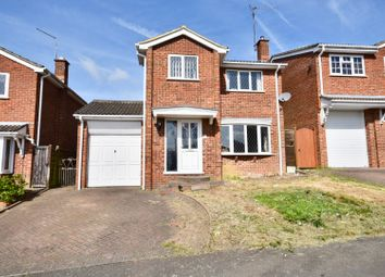 Thumbnail 3 bed detached house for sale in Connolly Drive, Rothwell, Kettering