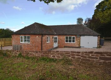 Thumbnail 2 bed detached bungalow for sale in Almington, Market Drayton