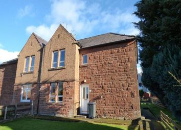 Thumbnail 2 bed flat to rent in Stark Crescent, Dumfries, Dumfries And Galloway
