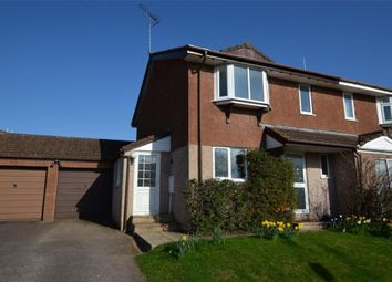 Thumbnail 3 bedroom semi-detached house to rent in Church Close, Lapford, Crediton, Devon