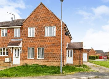 Thumbnail End terrace house for sale in Bader Close, King's Lynn