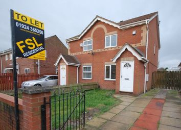 Thumbnail 2 bed semi-detached house to rent in Carr Furlong, Athersley, Barnsley