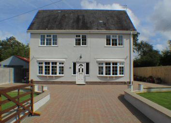 Thumbnail 3 bed detached house for sale in Pencaerfennilane, Crofty Swansea