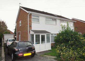 Thumbnail 3 bedroom semi-detached house for sale in Lon Y Ffin, Cardiff