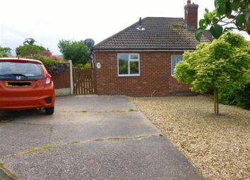 Thumbnail 2 bedroom semi-detached bungalow for sale in Mayflower Close, Gainsborough