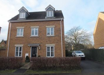 Thumbnail 4 bed detached house for sale in Caspian Gardens, Westbury, Wiltshire