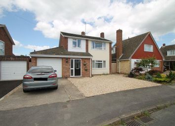 Thumbnail 3 bed detached house for sale in Moulder Road, Newtown, Tewkesbury