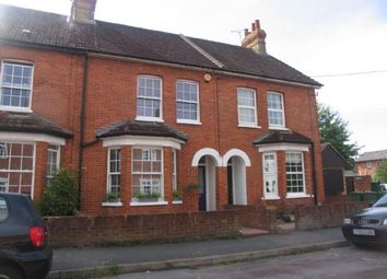 Thumbnail 2 bed terraced house to rent in Buckhurst Road, Frimley Green, Camberley