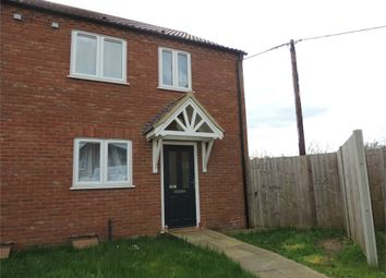 Thumbnail 3 bed semi-detached house for sale in Nightingale Walk, Denver, Downham Market