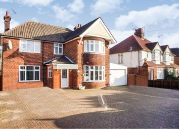 Thumbnail 3 bed detached house for sale in Felixstowe Road, Ipswich