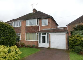 Thumbnail 3 bed semi-detached house for sale in Sansome Road, Shirley, Solihull