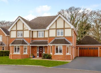 Thumbnail 5 bedroom detached house for sale in Stonelea Grove, Derbyfields, North Warnborough, Hook