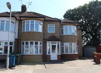 Thumbnail 4 bed semi-detached house to rent in Dorchester Avenue, Harrow