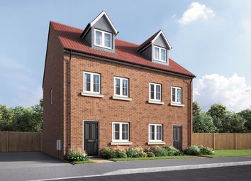 """Thumbnail 3 bed semi-detached house for sale in """"The Wyatt"""" at Coventry Road, Cawston, Rugby"""