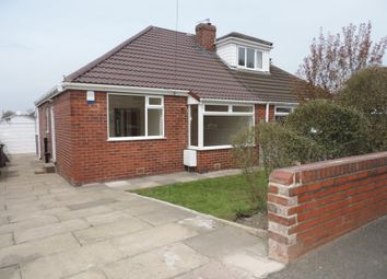 Thumbnail 2 bed semi-detached bungalow to rent in Berkley Drive, Royton, Oldham