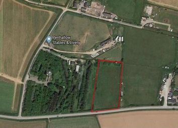 Truro, Cornwall TR4. Land for sale