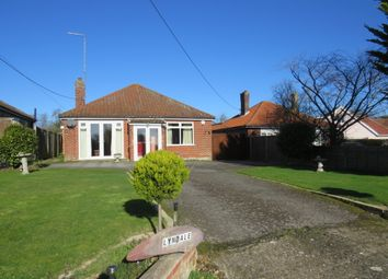 Thumbnail 3 bed detached bungalow for sale in Silver Hill, Hintlesham, Ipswich