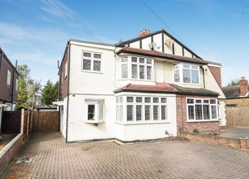 Thumbnail 4 bedroom semi-detached house for sale in Clandon Close, Stoneleigh, Epsom