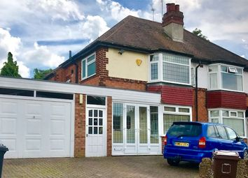 Thumbnail 3 bed semi-detached house to rent in Brookvale Grove, Solihull