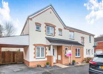 Thumbnail 3 bed semi-detached house for sale in Raleigh Drive, Cullompton