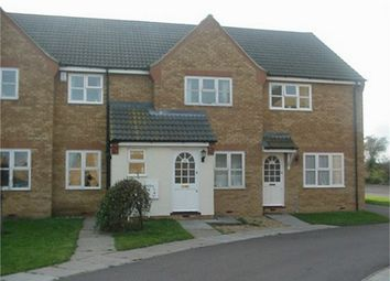 Thumbnail 2 bed terraced house to rent in Orchard Close, Warboys, Huntingdon