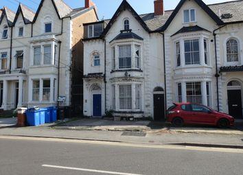 Thumbnail 1 bed flat for sale in Bath Street, Rhyl