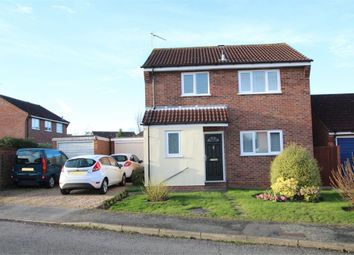 Thumbnail 3 bed detached house for sale in Wordsworth Road, Stowmarket, Suffolk