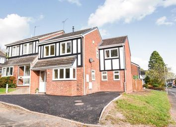 Thumbnail 4 bed semi-detached house for sale in Redstone Close, Redditch, Worcestershire