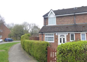 Thumbnail 2 bed end terrace house for sale in Cemetery Road, Houghton Regis, Dunstable