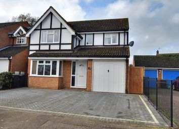 Thumbnail 4 bed detached house for sale in Sullivan Close, Shefford, Bedfordshire