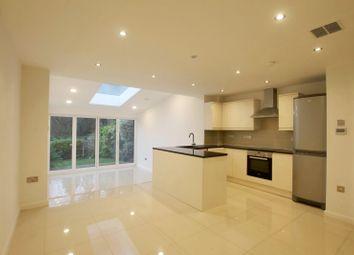 Thumbnail 3 bed terraced house to rent in Marlborough Drive, Weybridge
